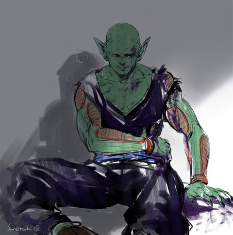 「Gohan/Piccolo」/「Tenten」の漫画 [pixiv]