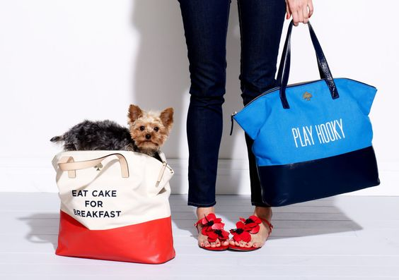 DIY Canvas Bags Inspired By Kate Spade Creations