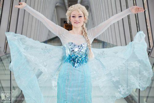 8 Tutos DIY : Elsa Reine des Neiges (adulte)