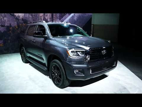 Toyota Large Suv >> 402 New 2018 Toyota Sequoia Large Suv Exterior Tour