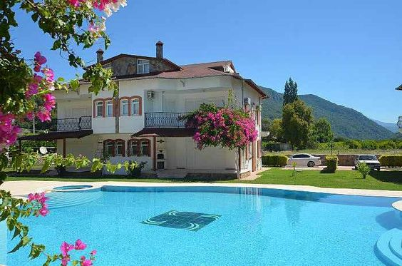 wwwalanyauk turkey private-villa-house-for-sale - villa mit garten und pool