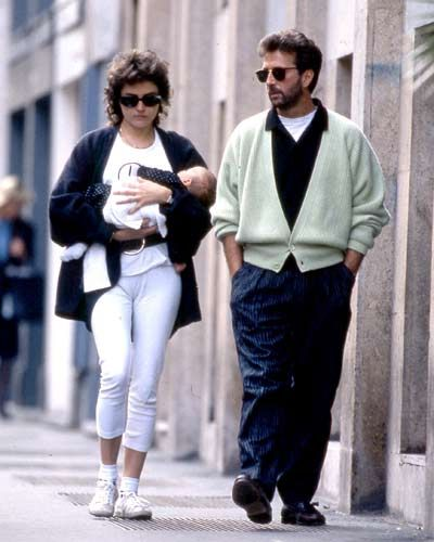 Italian showgirl Lory Del Santo with her and Eric Clapton ...
