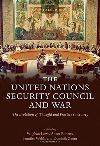 The United Nations Security Council and War/ Vaughan Lowe- Main Library 341.2 UNI