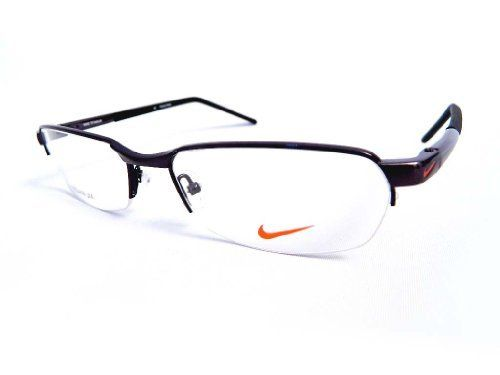 Nike Black Frame Glasses : New Nike Rx Prescription Titanium Eyeglass Frame #6021-001 ...
