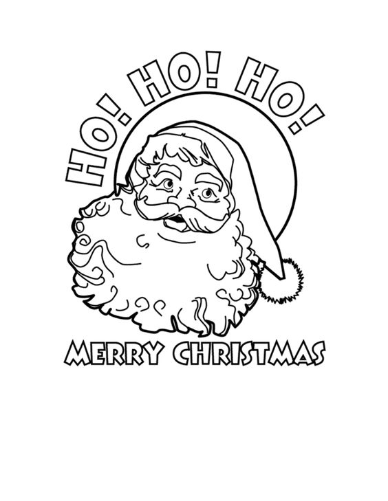 Merry Christmas Printable Coloring Pages Ho Ho Ho Merry Coloring Pages Of Merry