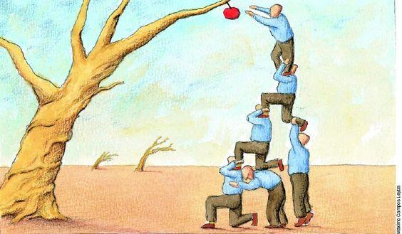 Organizar uma equipe não é tarefa fácil