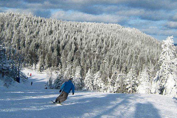 Mont Tremblant in Quebec - our favourite playground!