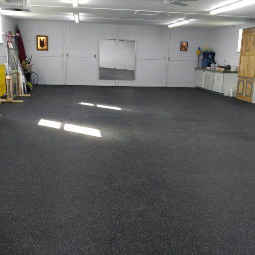 Rubber Flooring Rolls 1 4 Inch 10 Confetti Garage