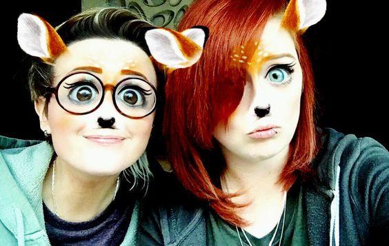 My ears match my hair  #selfie #antelope #safari #girlfriend #lesbians #lgbt #gay #androgynous #shorthair #redhair #redhead #ginger #snapchat #fiancee