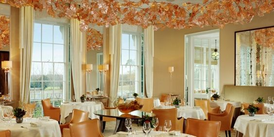 Restaurant Coworth Park http://www.bonvivant.co.uk/the-guide/hotels/210-coworth-park-hotel-review.html