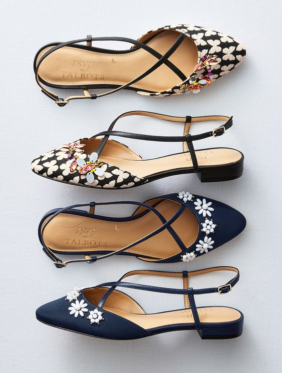 Edison gets an update! Elegant enough for evening, and comfortable enough for every day, these flats are fashioned for every occasion. | Talbots