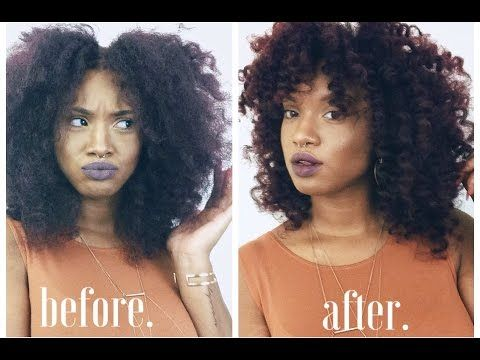 How To | Curl and Style Crochet Braids using Marley Hair! - YouTube