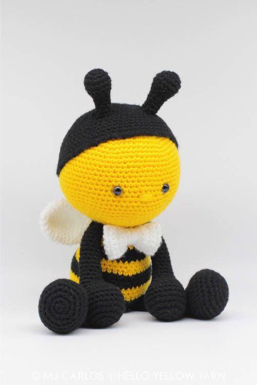 Instant Download Crochet Pattern-Cuddly Bumble Bee-Amigurumi ...   750x500
