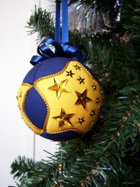 """Starry Night"" Kimekomi Ornament"