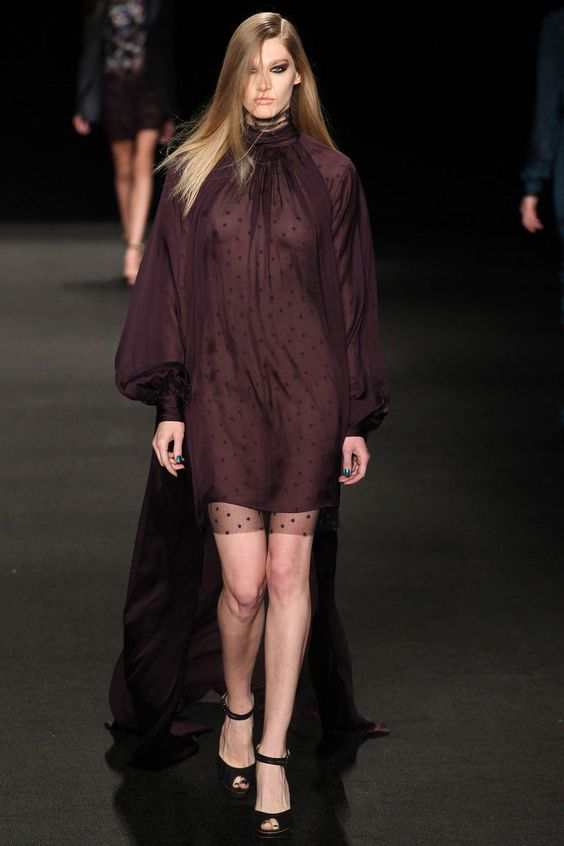 Monique Lhuillier, Осень-зима 2015/2016, Ready-To-Wear, Нью-Йорк