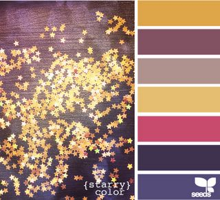 starry- color ideas for baby's room