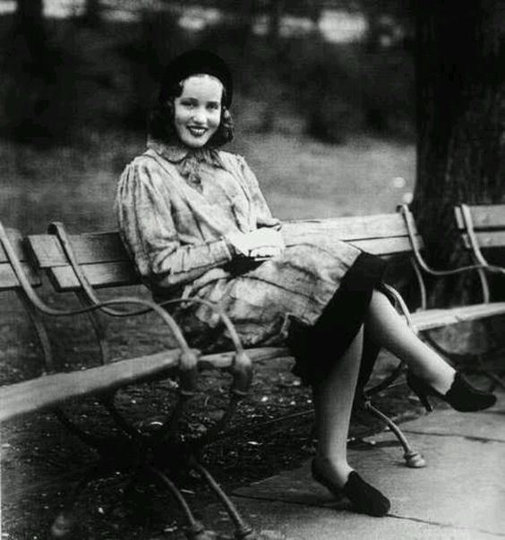 Little Edie in Central Park 1938