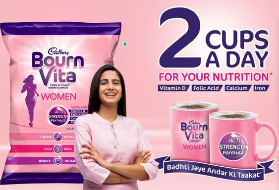 Cadbury Bournvita Health Drink for Women