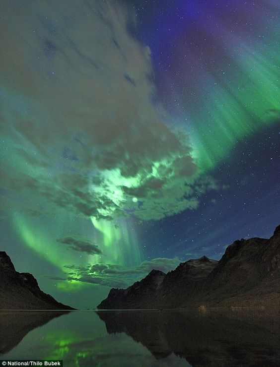 Northern Lights over Norway.