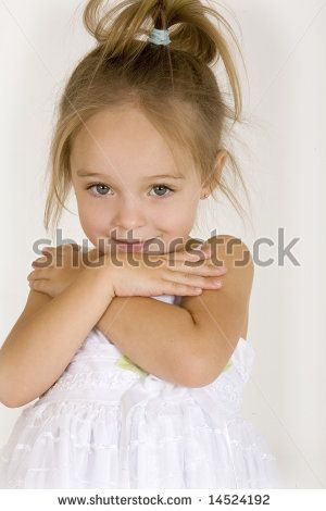 Image detail for -little cute girl in white dress ...