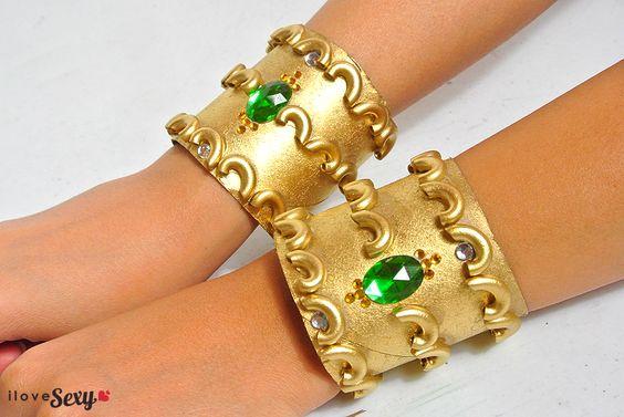 DIy Egyptian Cuffs