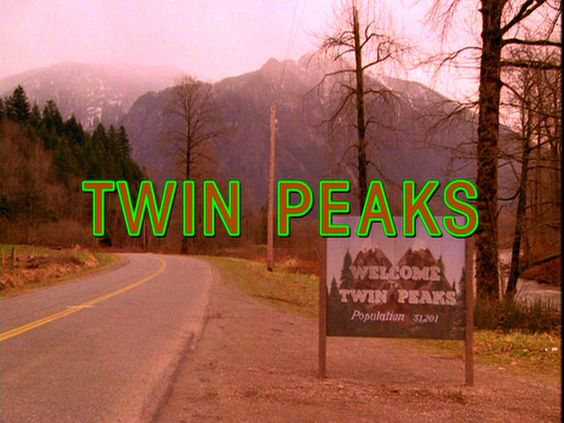 Twin Peaks. Always makes me nostalgic for fall.