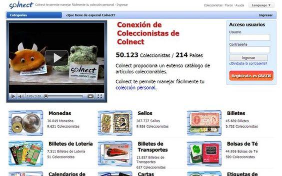 Colnect, una red social para coleccionistas de todo el mundo