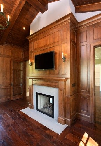 Magnolia - Interior - traditional - family room - other metro - Markay Johnson Construction