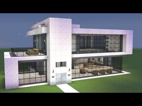 Minecraft Einfaches Modernes Haus Design Alle Dekoration Minecraft Haus Minecraft Hauser Modern Minecraft Haus Bauplan