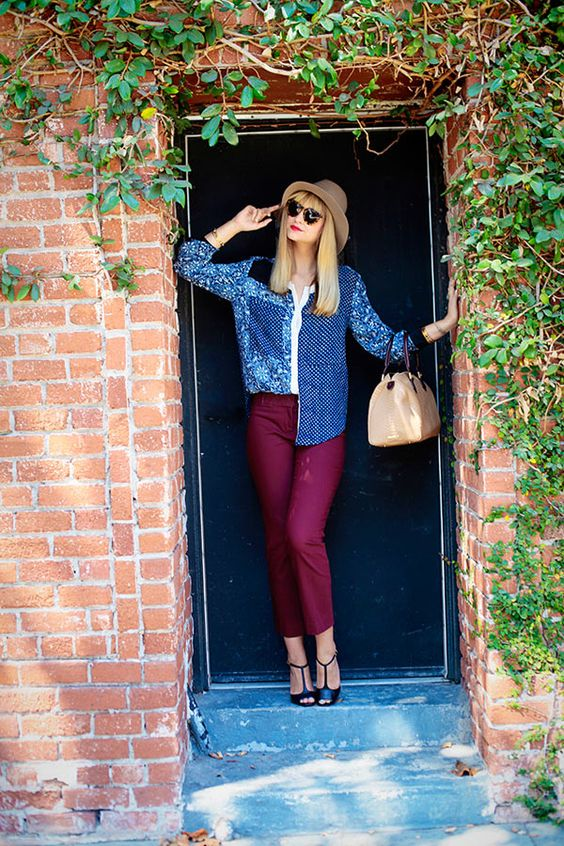 Streetstyle - Rebecca Taylor Bluse, Late Afternoon