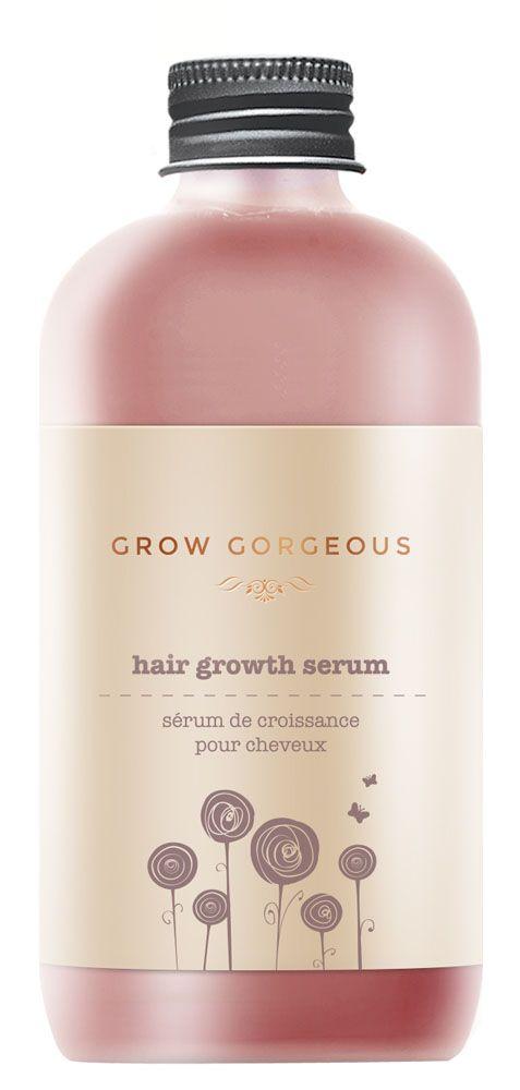 vollerem, dickerem und kräftigerem Haar mit dem Haarwachtumsserum von Grow Gorgeous