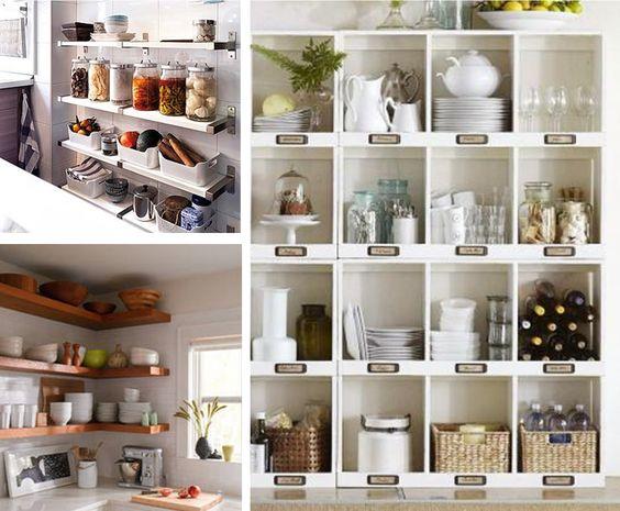 7 ideas para poner en orden la cocina baldas estanter as ideas para organizar - Estanterias para la cocina ...