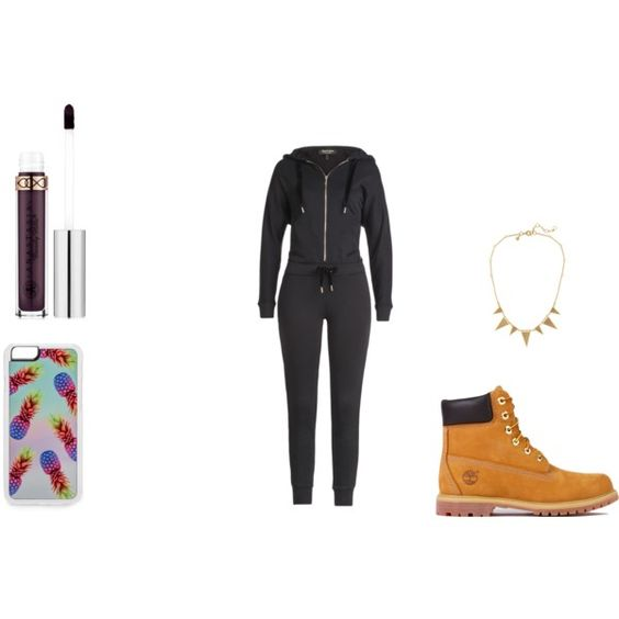 casual doesn't mean ugly by cloe8571 on Polyvore featuring Juicy Couture, Timberland, J.Crew, Zero Gravity and Anastasia Beverly Hills a casual hijab outfit