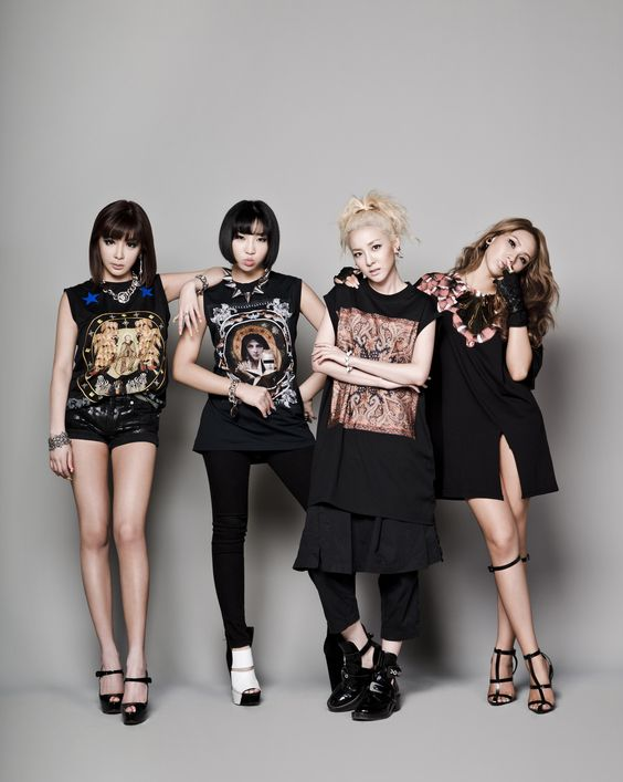 2NE1 ★ CL, Minzy, Dara, and Bom