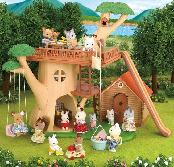 Week one prize: Sylvanian Families Tree House #Entropywishlist #pintowin #Sylvanianfamilies: