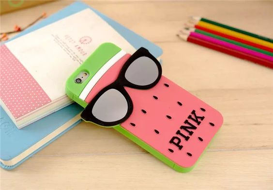 Victoria's Secret Pink Coole Silikon Handyhülle für iphone 5/5S, iphone 6/6Plus…