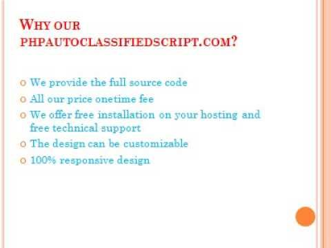 http://phpautoclassifiedsscript.wordpress.com/2014/11/27/php-auto-classifieds-script-auto-classifieds-script-second-hand-auto-dealer-script/