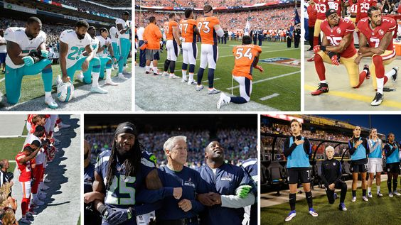 Athletes know their national anthem protests are uncomfortable. And that's just…