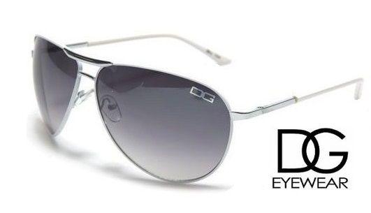 DG Womens Ladies Girls Designer Celebrity Oversize Red Aviator Style Sunglasses