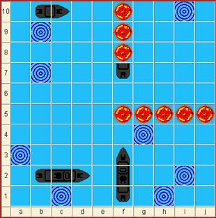 """Schiffe versenken spielen: Mit Schiffe versenken (auch Schiffchen versenken, Kreuzerkrieg, Seeschlacht oder Battleships) bieten wir neben Käsekästchen und bedingt auch Vier gewinnt ein weiteres klassisches """"Schul""""-Spiel, das oft mit Bleistift auf kariertem Papier gespielt wird."""