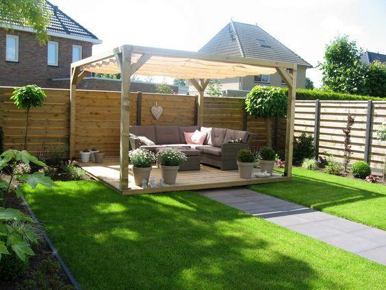 Moderner Sichtschutz für den Garten Gartenideen Pinterest - gartengestaltung modern sichtschutz