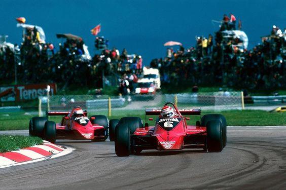 Nelson Piquet & Niki Lauda (Brabham-Alfa Romeo) Grand Prix d'Autriche -Osterreichring - 1979 - Formula 1