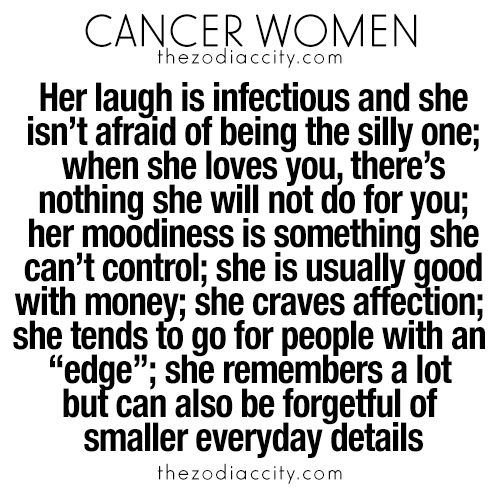 What you need to know about Cancer Zodiac Sign ♋ women.