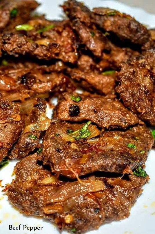 Pepper Beef Recipe Peppered Beef Recipe Indian Beef Recipes Stuffed Peppers