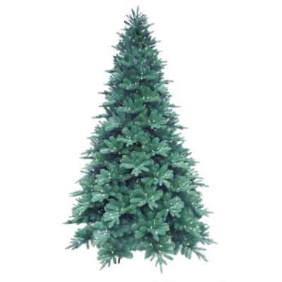 $279.50 Martha Stewart Living 9 ft. Pre-Lit LED Blue Noble Spruce ...
