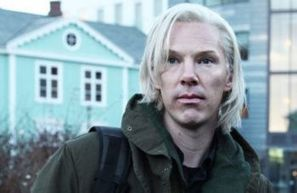 Benedict Cumberbatch como Julian Assange en The Fifth Estate