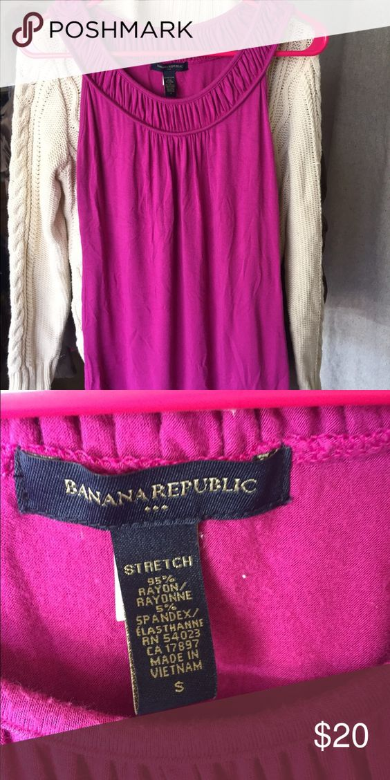 Banana Republic shirt S 95% rayon 5% spandex soft and super comfortable Banana Republic Other