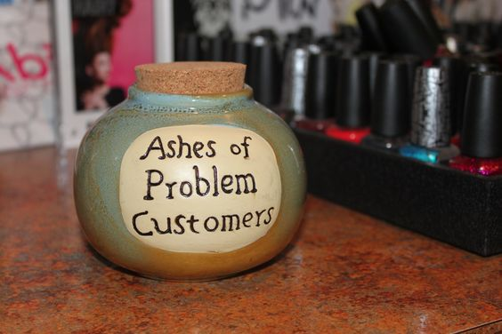 Ashes of Problem Customers!