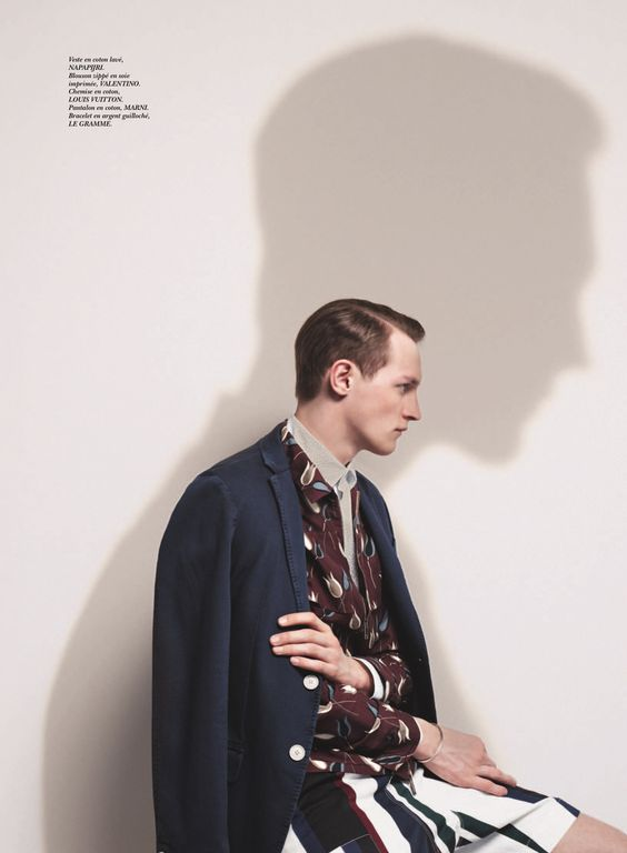 Rutger Schoone for les echos, photography by Pablo Arroyo styling by Jean Michel Clerc