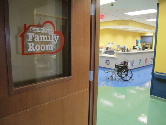 Ronald mcdonald family room louisville ky rmhc for Ronald mcdonald family room